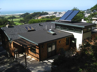 zero net energy home